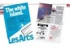 The White Island of Les Arcs