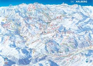 Arlberg_Piste_Map