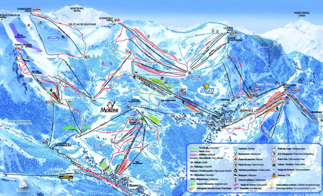 Morzine-Les-Gets-Piste-map