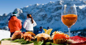 Skiing, Eating, and Drinking in Alta Badia