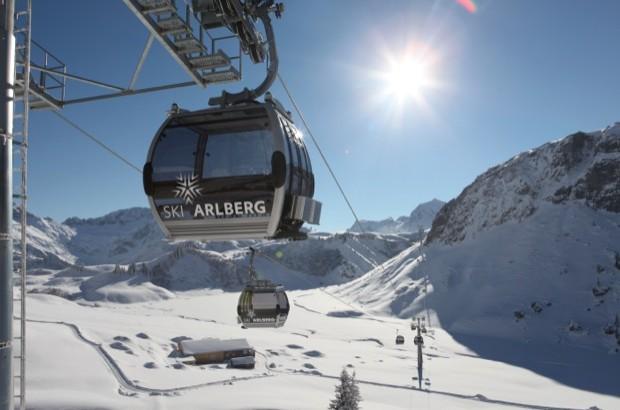 arlberg ski area