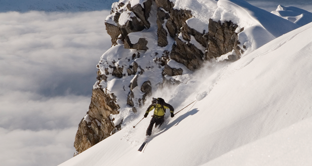 Why we love to ski….