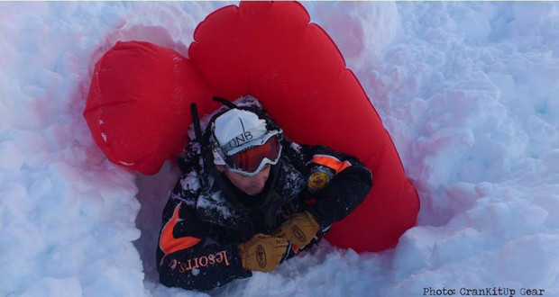 Avalanche Airbag warning  from C4's Keme