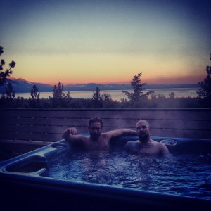 Hot Tub Sunrise
