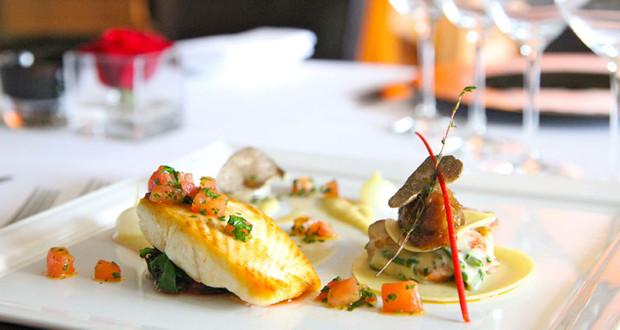 Brits go gourmet in Courchevel