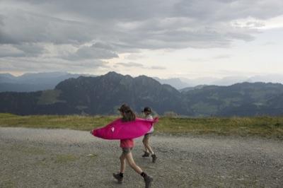 Family walking trail in Alpbach