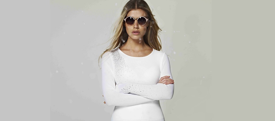 S'No Queen Classic Crew Neck White £78