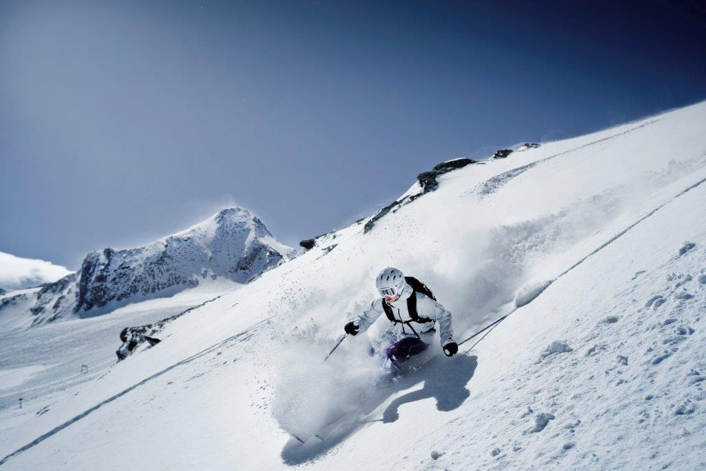 The 100% ski region