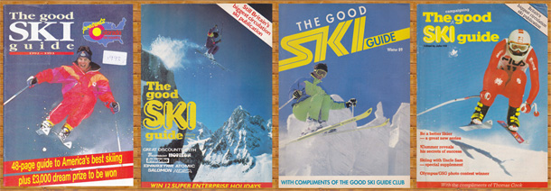 Good ski guide covers from the 70s and 80s