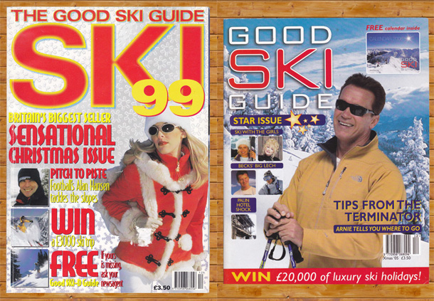 Good ski guide Schwarzenegger