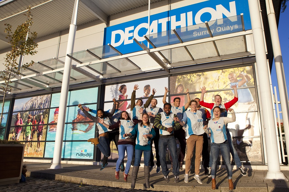 Decathlon grows and grows