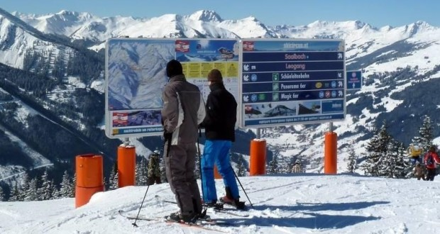 Saalbach – new signs the on way