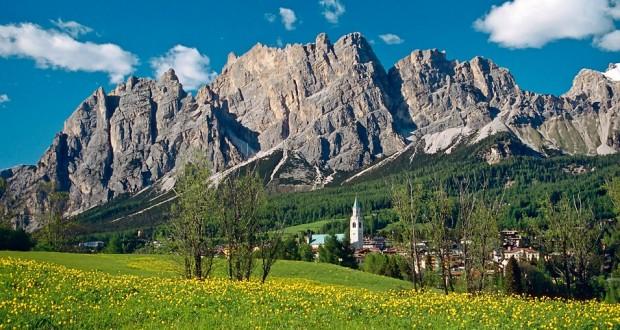 Alpine beauty in the summer