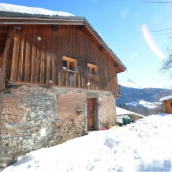 Chalet in French Alps – Savoie – Charming chalet in a secluded spot with breathtaking views