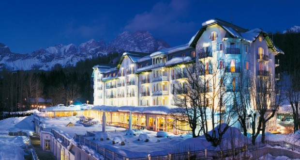The Hotel Cristallo of Cortina
