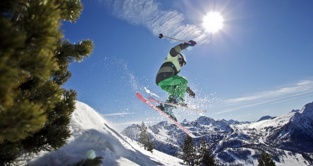 We spend more on skiing than food!