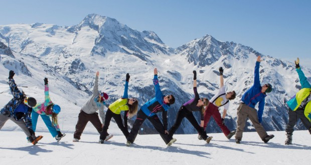 Boost your skiing with Yoga's best 5 poses