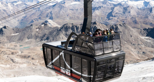 Tignes has just inaugurated the world's largest and highest tramway