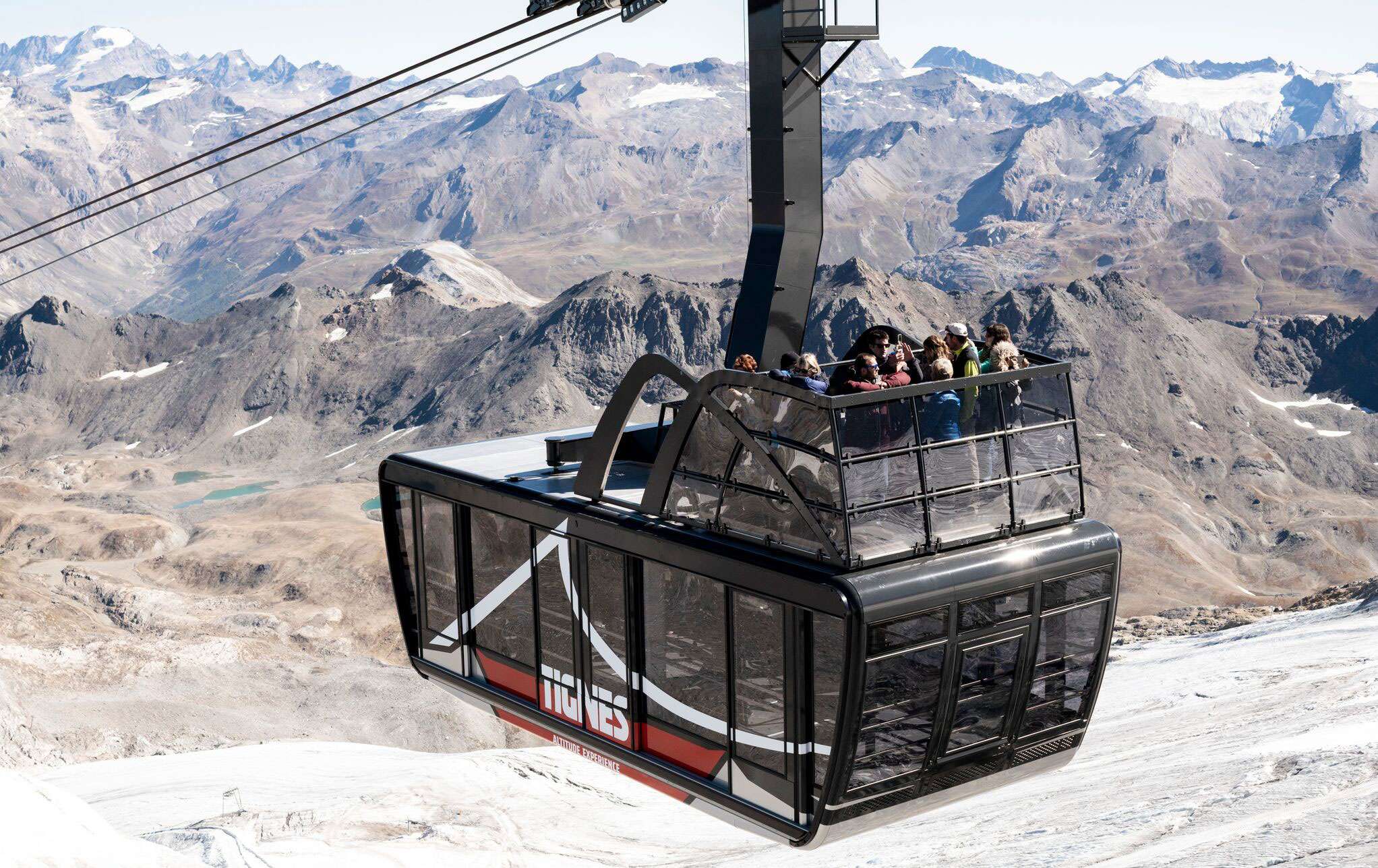 Tignes resort has just inaugurated the largest and highest tramway in the world
