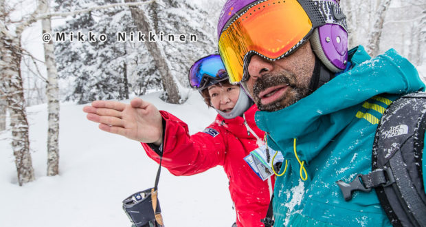 Japow! Keme feasts is the East