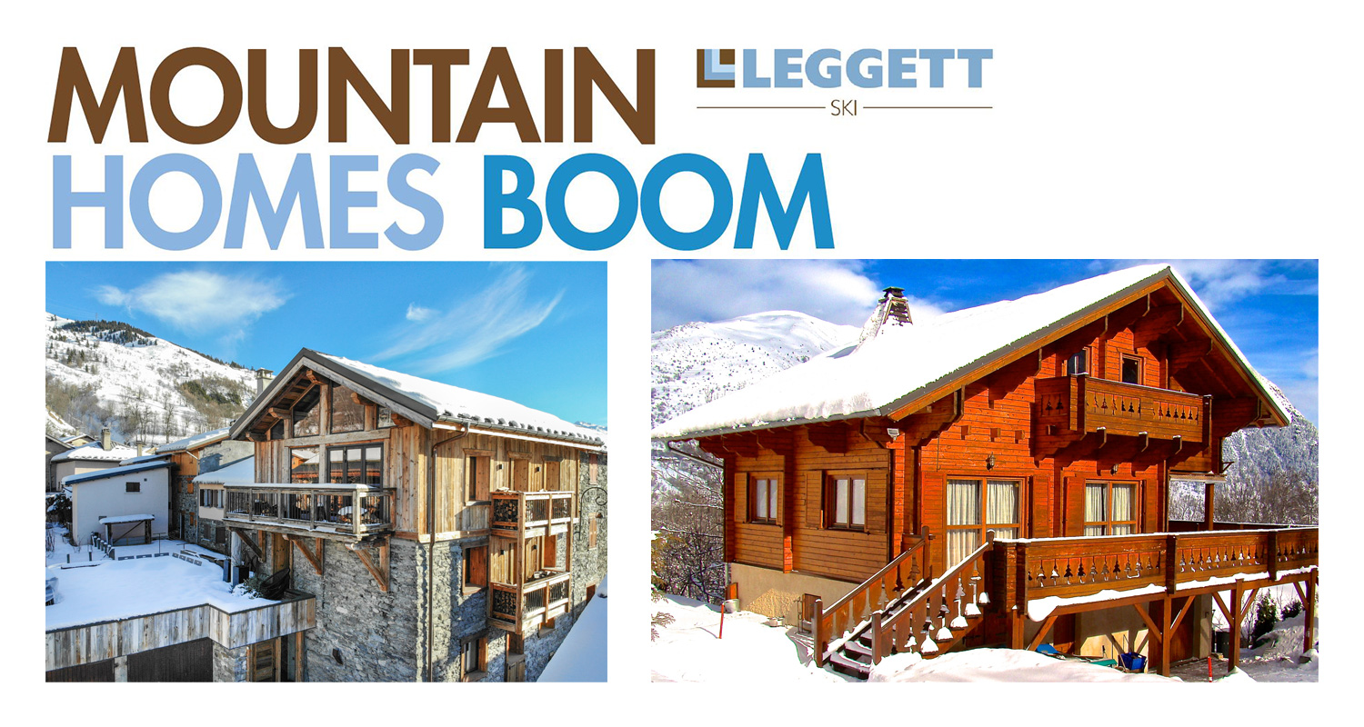Mountain Homes Boom