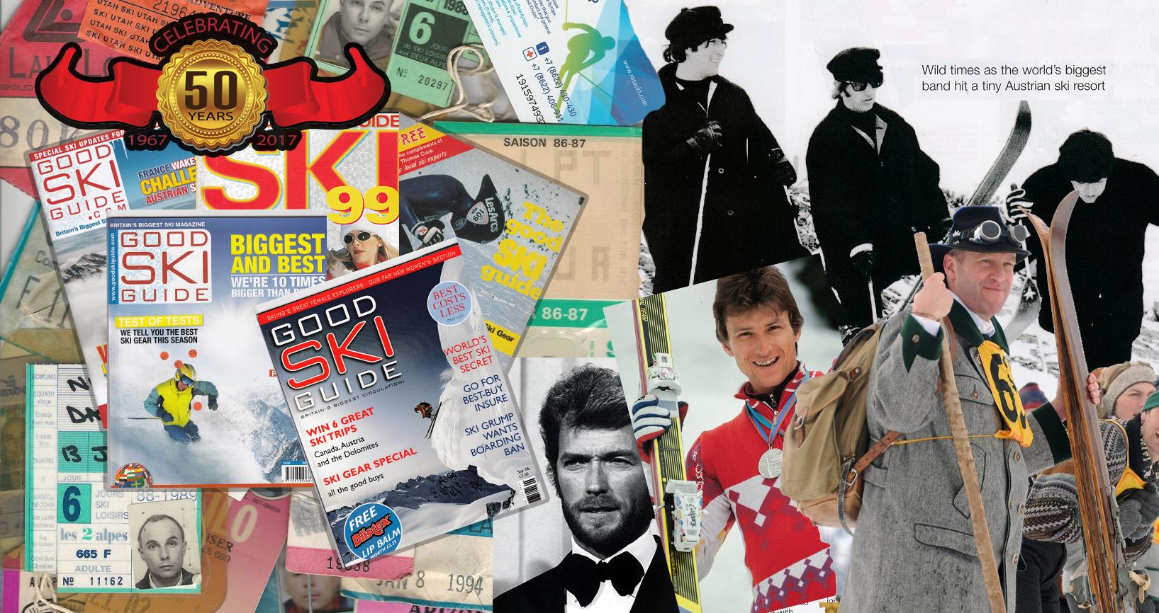 WAY WE USED TO SKI …50 years of The Good Ski Guide