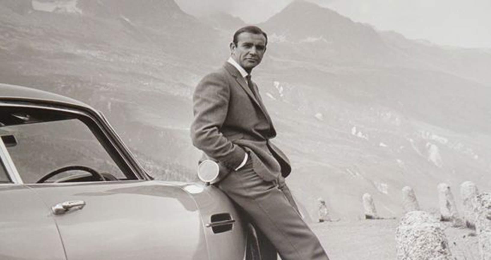 Bond on Stelvio for Goldfinger